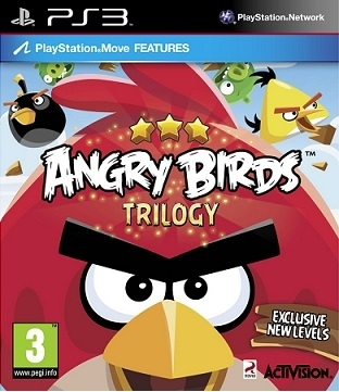Angry Birds Trilogy PL Move (PS3)